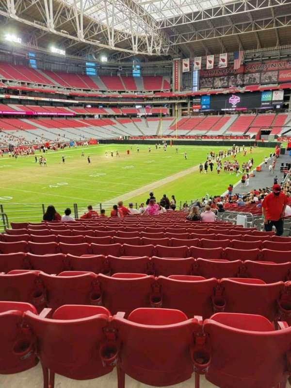 State Farm Stadium, secção: 137, fila: 30, lugar: 7