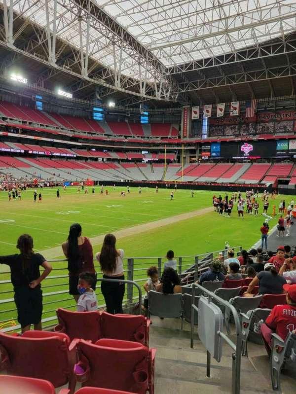 State Farm Stadium, secção: 137, fila: 14, lugar: 1
