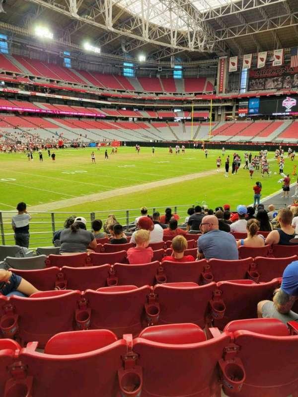 State Farm Stadium, secção: 136, fila: 13, lugar: 15