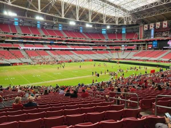 State Farm Stadium, secção: 135, fila: 36, lugar: 25