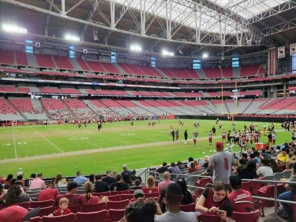 State Farm Stadium, secção: 135, fila: 13, lugar: 6