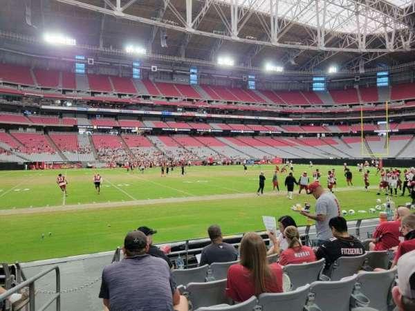 State Farm Stadium, secção: 134, fila: 6, lugar: 14