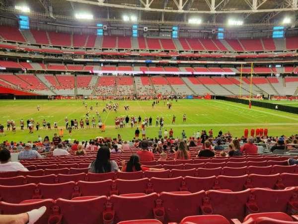 State Farm Stadium, secção: 132, fila: 29, lugar: 11