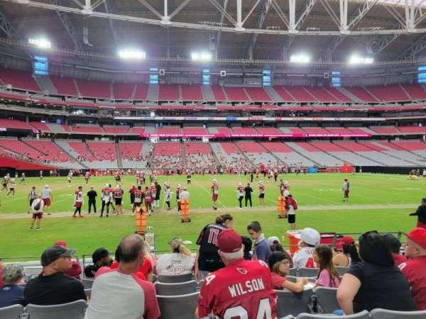 State Farm Stadium, secção: 133, fila: 7, lugar: 6
