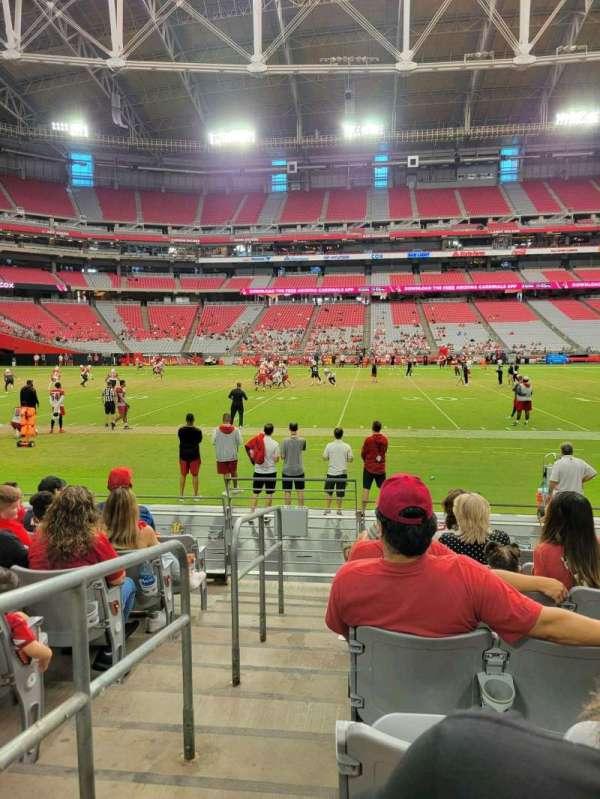 State Farm Stadium, secção: 131, fila: 7, lugar: 18