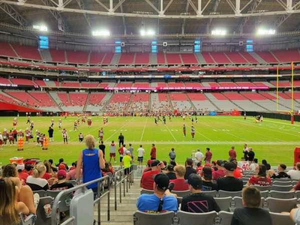 State Farm Stadium, secção: 131, fila: 14, lugar: 18