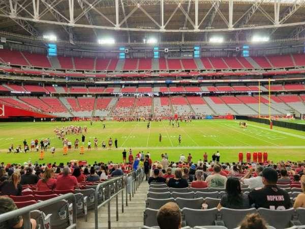 State Farm Stadium, secção: 131, fila: 27, lugar: 18