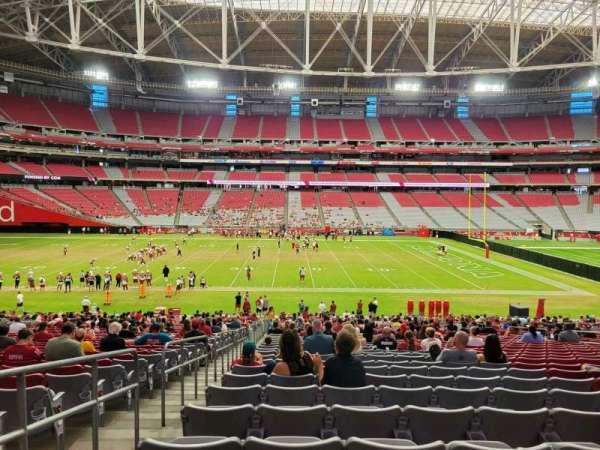 State Farm Stadium, secção: 131, fila: 37, lugar: 17