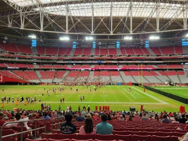 State Farm Stadium, secção: 130, fila: 35, lugar: 15