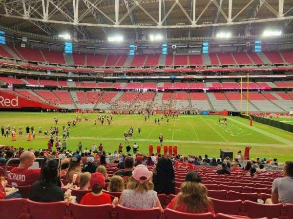 State Farm Stadium, secção: 130, fila: 25, lugar: 11