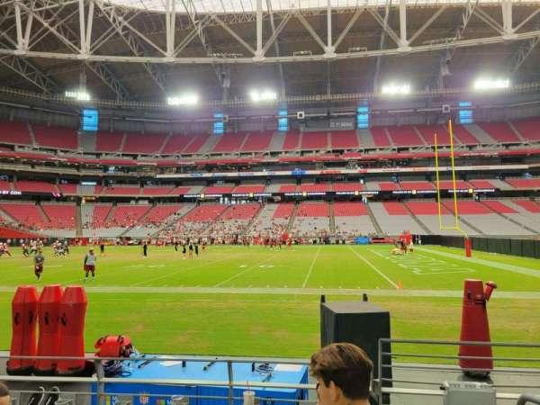 State Farm Stadium, secção: 130, fila: 4, lugar: 1