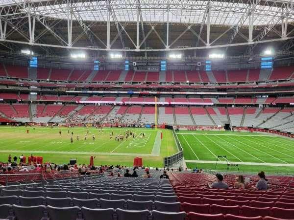 State Farm Stadium, secção: 128, fila: 37, lugar: 11