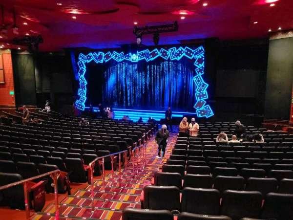 The Mirage Theatre, secção: 103, fila: H, lugar: 2