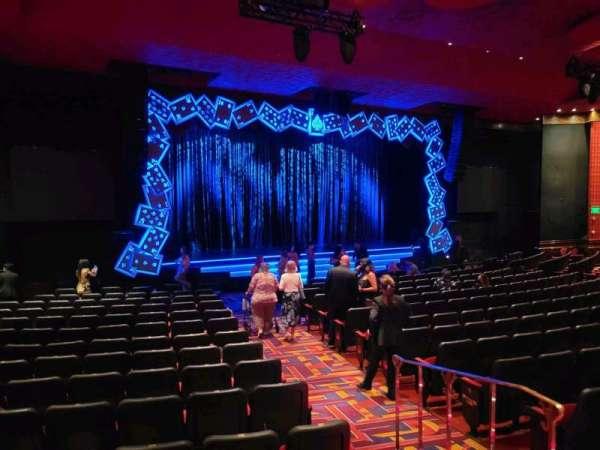 The Mirage Theatre, secção: 101, fila: D, lugar: 17