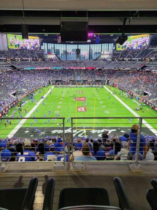 Allegiant Stadium, secção: 225, fila: 15A, lugar: 13