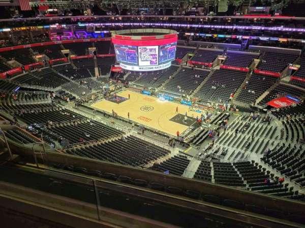 Staples Center, secção: 315, fila: 7, lugar: 10