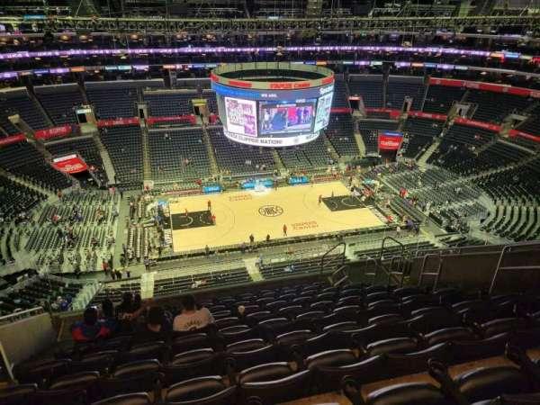 Staples Center, secção: 319, fila: 11, lugar: 8
