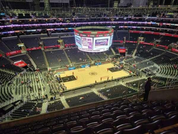 Staples Center, secção: 320, fila: 9, lugar: 13