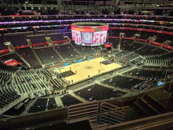 Staples Center, secção: 321, fila: 7, lugar: 10