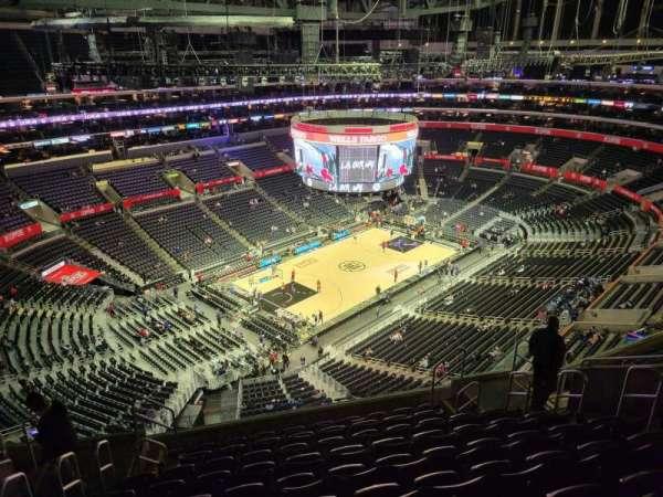 Staples Center, secção: 322, fila: 10, lugar: 10