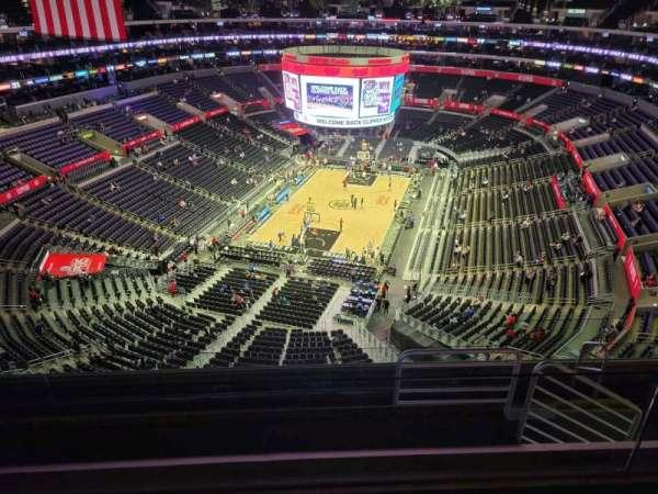 Staples Center, secção: 325, fila: 7, lugar: 11