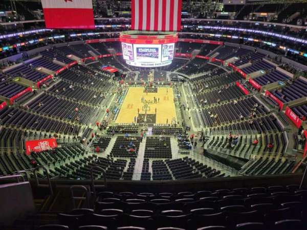 Staples Center, secção: 326, fila: 7, lugar: 11