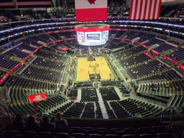 Staples Center, secção: 327, fila: 6, lugar: 6