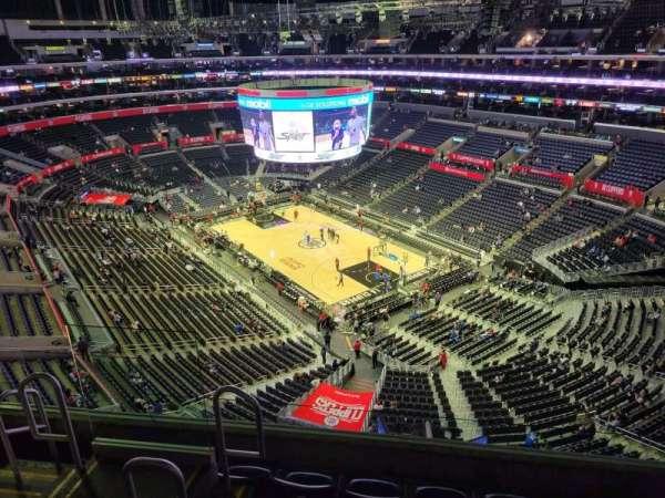 Staples Center, secção: 330, fila: 5, lugar: 10