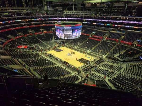 Staples Center, secção: 331, fila: 10, lugar: 7