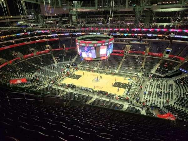 Staples Center, secção: 333, fila: 14, lugar: 8