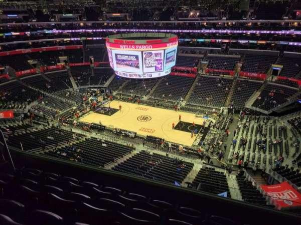 Staples Center, secção: 333, fila: 5, lugar: 8