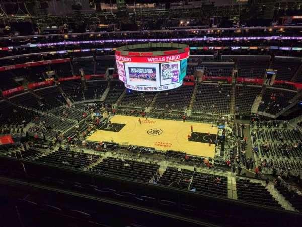 Staples Center, secção: 334, fila: 6, lugar: 6