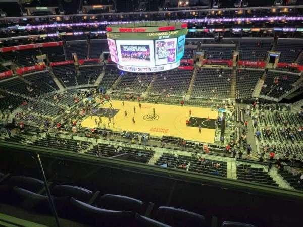 Staples Center, secção: 334, fila: 2w, lugar: 2
