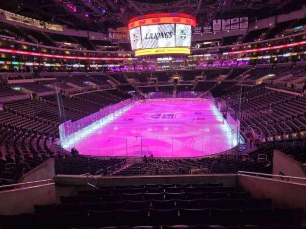 Staples Center, secção: 207, fila: 10, lugar: 10