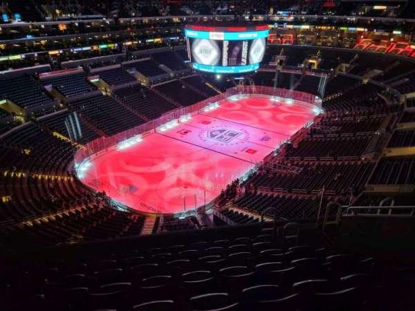 Staples Center, secção: 306, fila: 8, lugar: 8