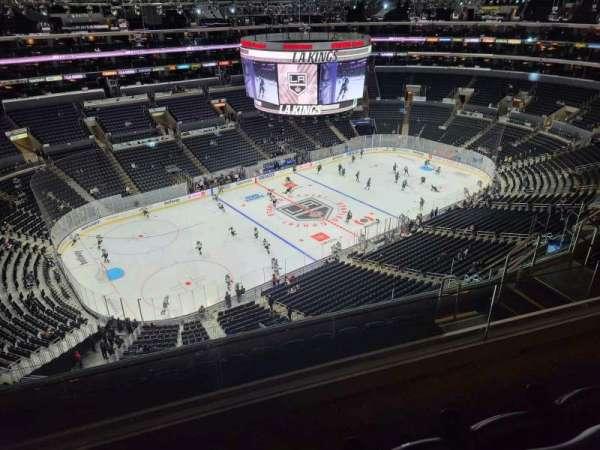 Staples Center, secção: 321, fila: 8, lugar: 13