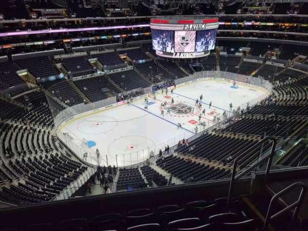 Staples Center, secção: 322, fila: 5, lugar: 5