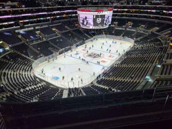 Staples Center, secção: 323, fila: 7, lugar: 15