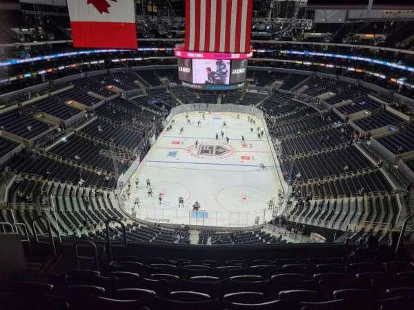 Staples Center, secção: 326, fila: 7, lugar: 10