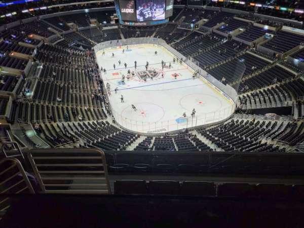 Staples Center, secção: 328, fila: 6, lugar: 14