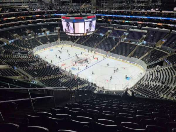 Staples Center, secção: 331, fila: 11, lugar: 11