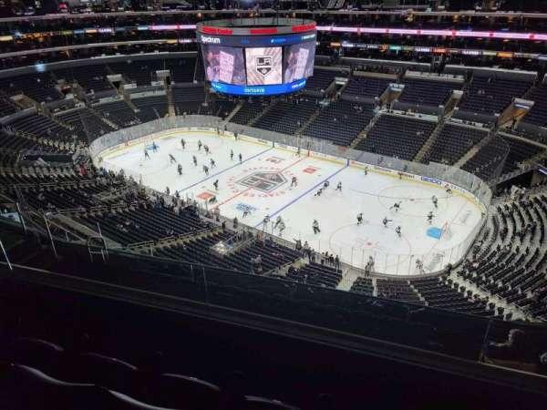 Staples Center, secção: 332, fila: 8, lugar: 10