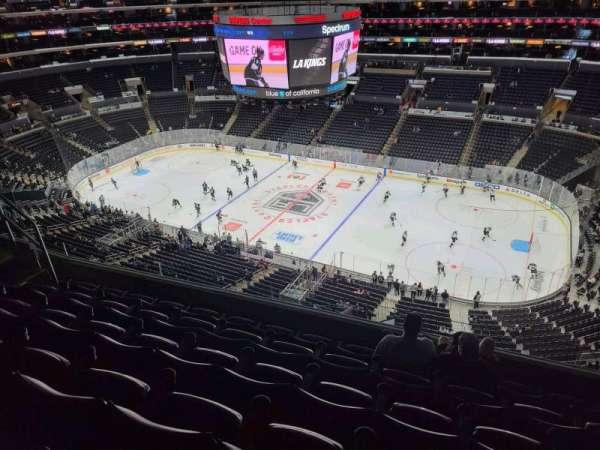 Staples Center, secção: 333, fila: 6, lugar: 6