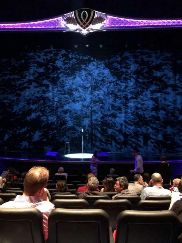 Encore Theatre At Wynn, secção: ORCHC, fila: L, lugar: 107, 108