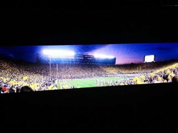 Michigan Stadium, secção: 6, fila: 19, lugar: 15