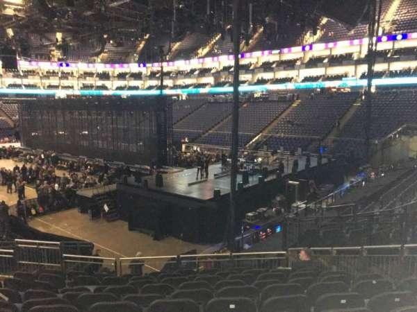 The O2 Arena, secção: 114, fila: T, lugar: 421