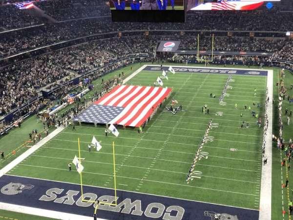 AT&T Stadium, secção: 425, fila: 1, lugar: 21