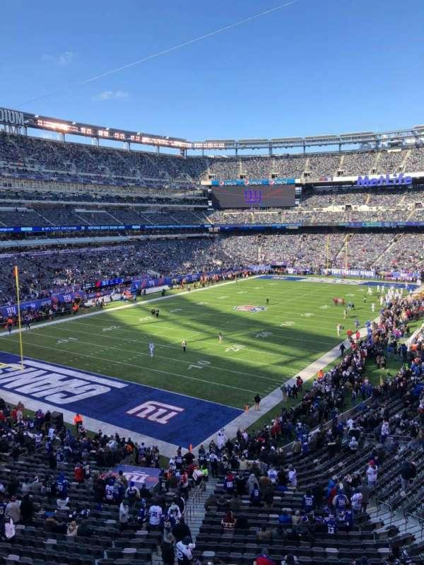 MetLife Stadium, secção: 223, fila: 1, lugar: 1