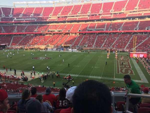 Levi's Stadium, secção: 235, fila: 7, lugar: 1