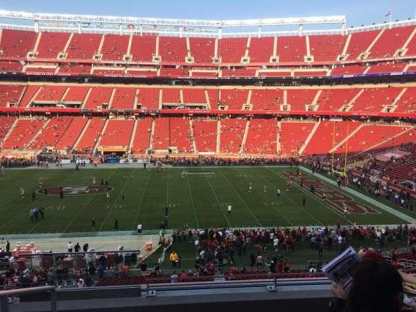 Levi's Stadium, secção: C237, fila: 5, lugar: 20